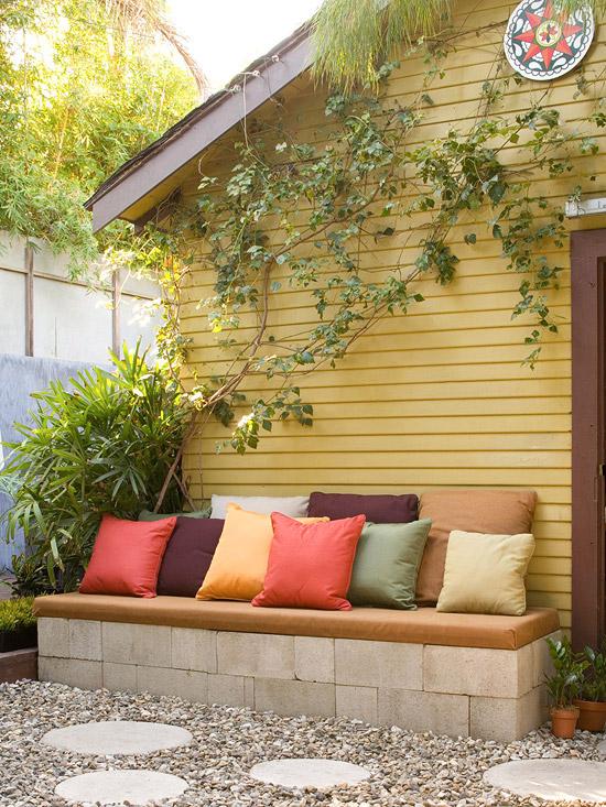 15 ideas econ micas para decorar tu patio - Decoracion facil y barata ...