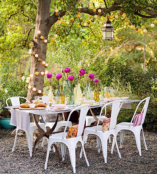 15 ideas econ micas para decorar tu patio - Como disenar un jardin grande ...