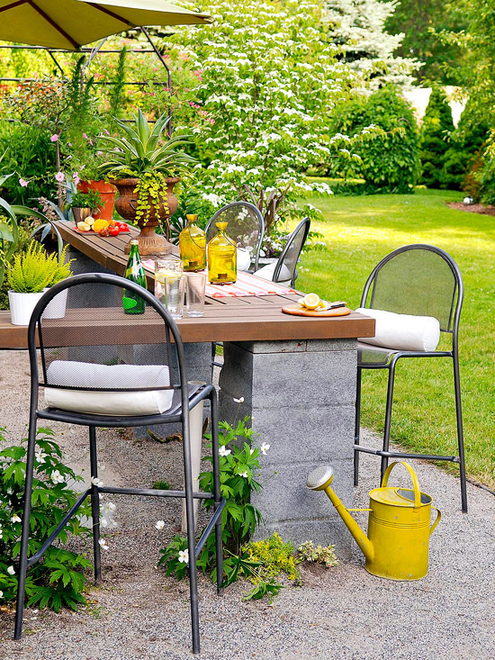15 ideas econ micas para decorar tu patio for Decorar jardin barato