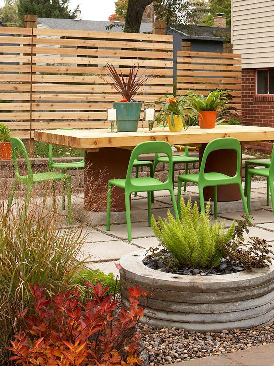 15 ideas economicas para decorar tu patio 13 - Como Decorar Un Patio