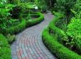 imagen 8 ideas de senderos con ladrillos para el jardín