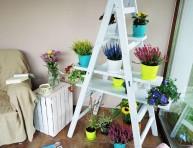 imagen Escalera estantería para tus plantas de interior