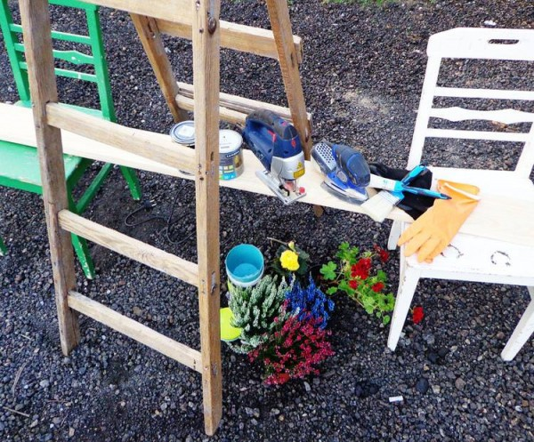 Escalera estanter a para tus plantas de interior for Estanteria plantas interior