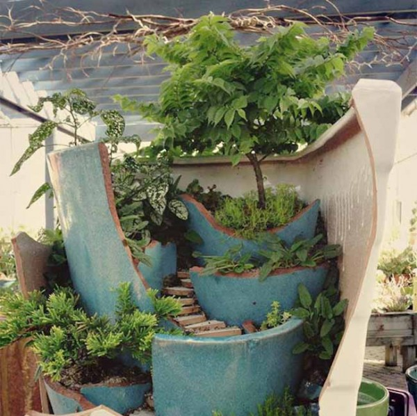 6 Modi Per Riutilizzare I Vasi Rotti Guida Giardino