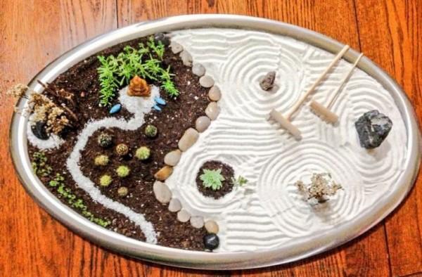 C mo hacer un jard n zen en miniatura - Giardino zen in miniatura ...