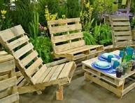 imagen Maravillosas ideas con palets para el jardín