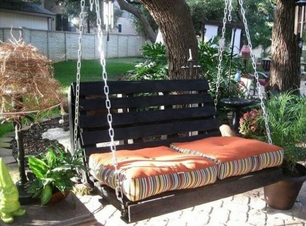 maravillosas ideas con palets para el jardin 03 - Muebles De Jardin Con Palets