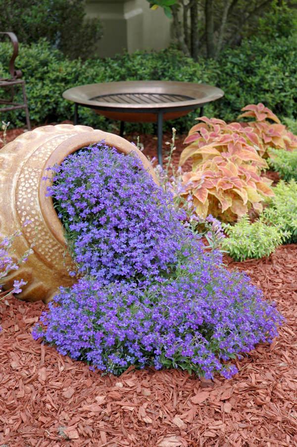 flores en vasija