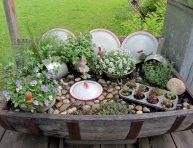 imagen Recicla utensilios de cocina para decorar tu jardín