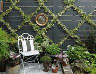 imagen Cómo hacer un elegante y sencillo enrejado de plantas