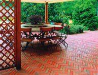 imagen 12 ideas para usar ladrillos en el diseño de tu jardín