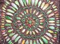 imagen Cómo preparar mandalas con hojas de suculentas