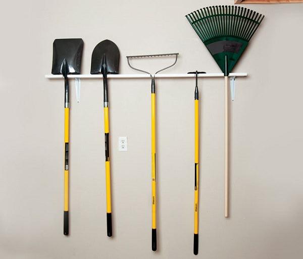 Ideas DIY storage for the garden 2
