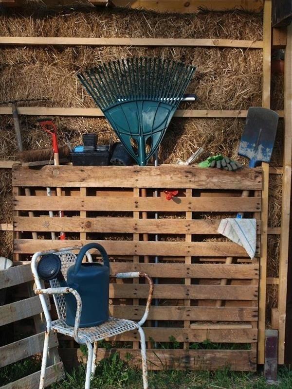 Ideas DIY storage for the garden 4