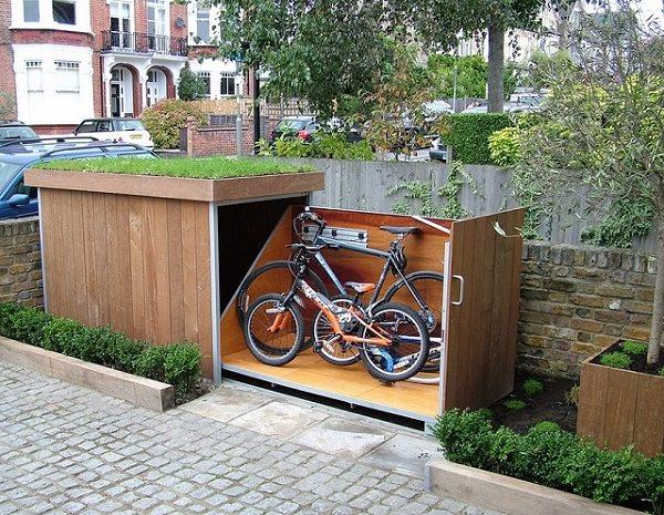 Ideas DIY storage for the garden 6