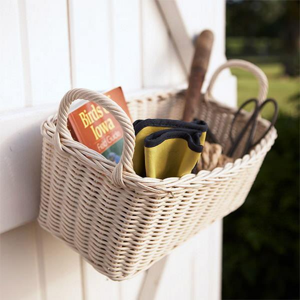 Ideas DIY storage for the garden 14