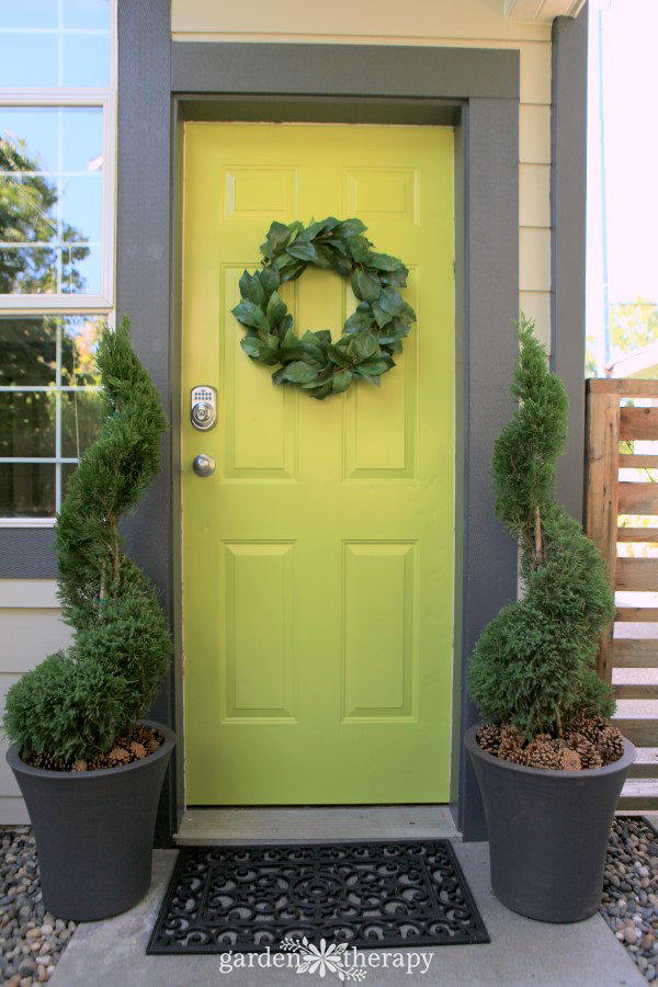 Care and maintenance of a topiary decorative 8