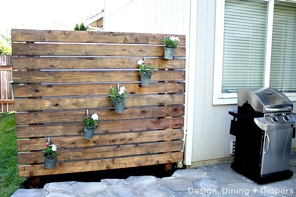Improvement easily in the privacy of your garden 8