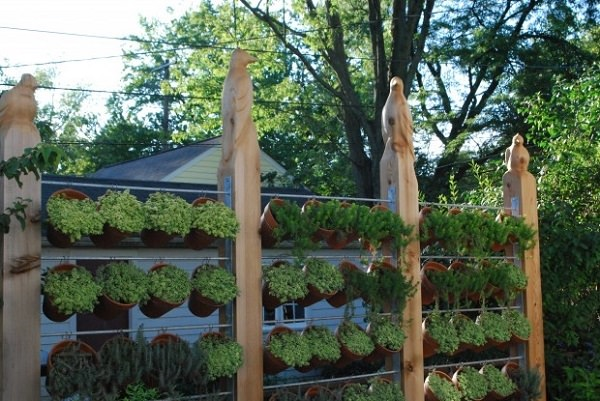 Improvement easily in the privacy of your garden 12
