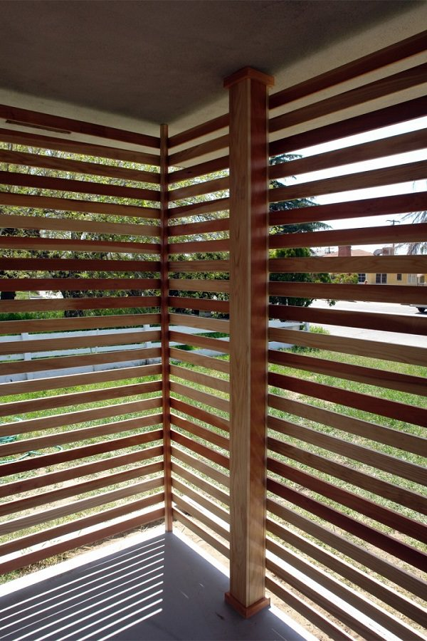 Improvement easily in the privacy of your garden 14