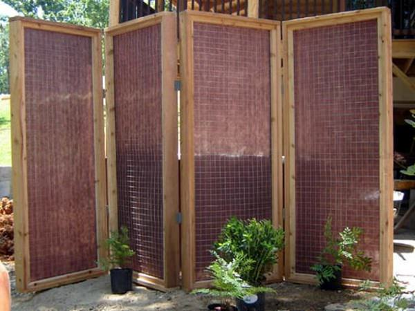 Improvement easily in the privacy of your garden 15