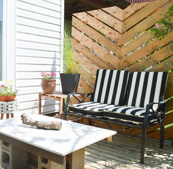 Improvement easily in the privacy of your garden 18