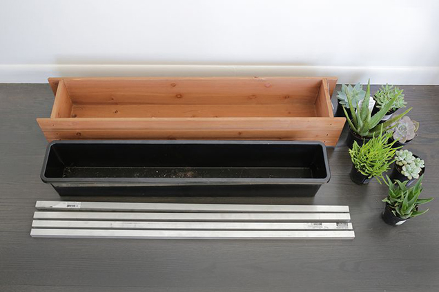 A planter box DIY very decorative 2