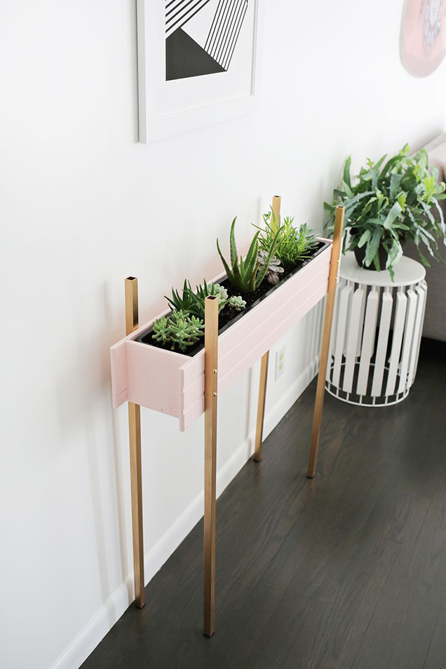 A planter box DIY very decorative 9