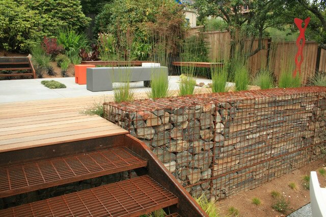 Walls of gabions, what they are and how to use them 2