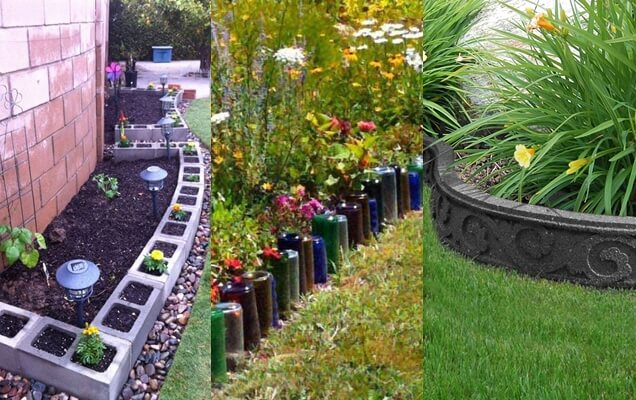 10 Ideas Creativas Para Los Bordes De Jardín