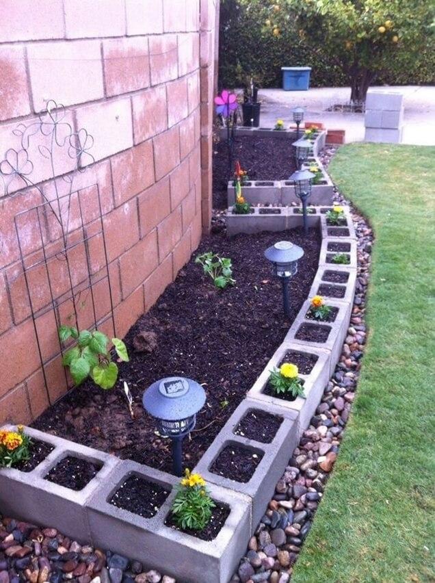 10 ideas creativas para los bordes de jardín