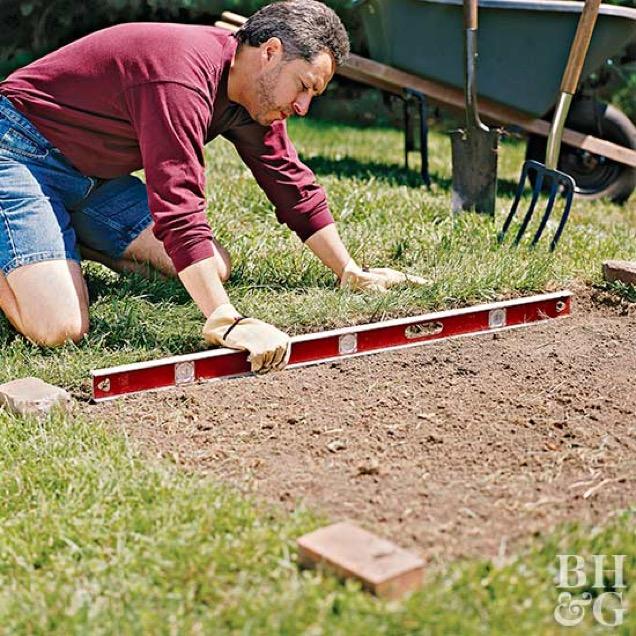 C mo construir una cama elevada f cilmente for Camas balinesas para jardin