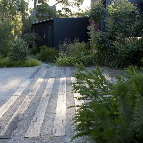 10 formas de usar grava en el jardín21