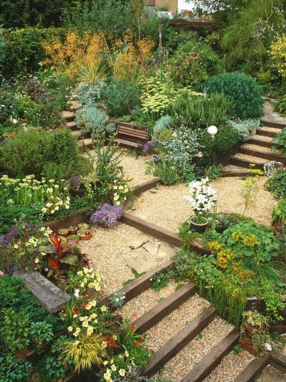 10 formas de usar grava en el jardín23