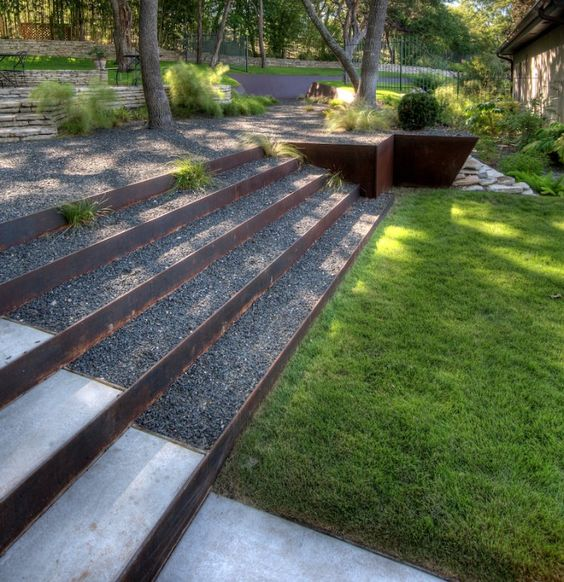 10 formas de usar grava en el jardín26