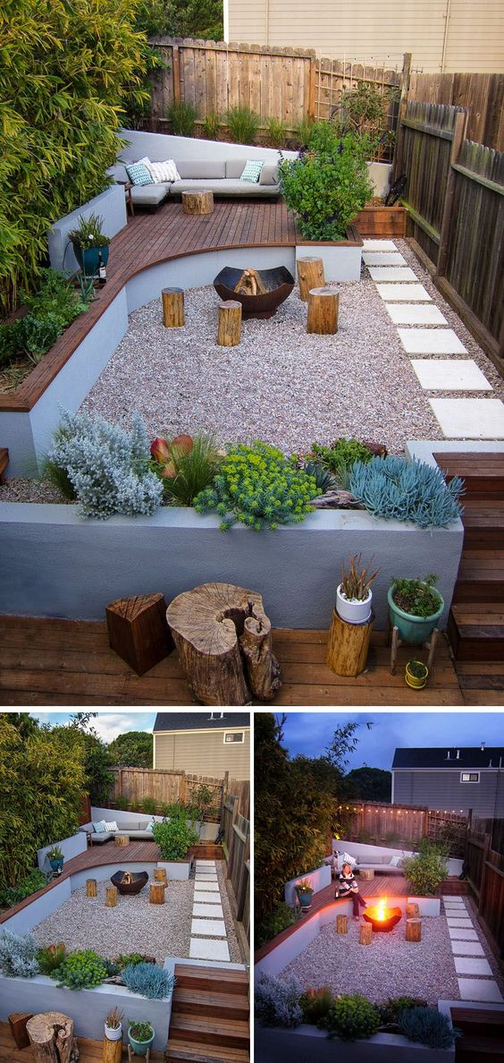 10 formas de usar grava en el jardín29