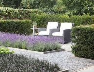 imagen 10 formas de usar grava en el jardín
