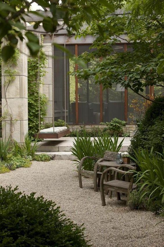 10 formas de usar grava en el jardín31