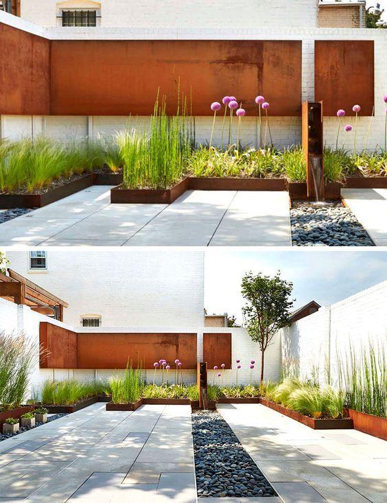 10 formas de usar grava en el jardín37