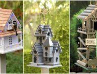 imagen 10 casas de aves para decorar tu jardín