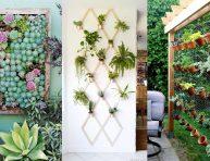 imagen 25 ideas creativas para diseñar un jardín vertical