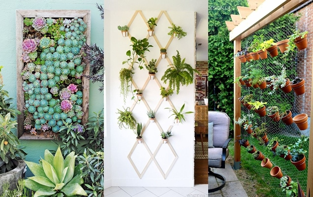 25 Ideas Creativas Para Disenar Un Jardin Vertical