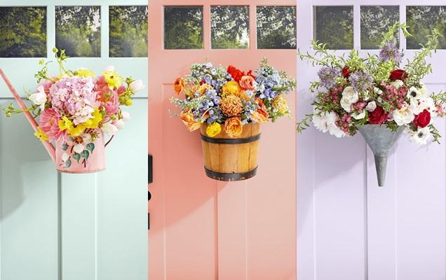 Decora Tu Puerta De Entrada Con Arreglos Florales