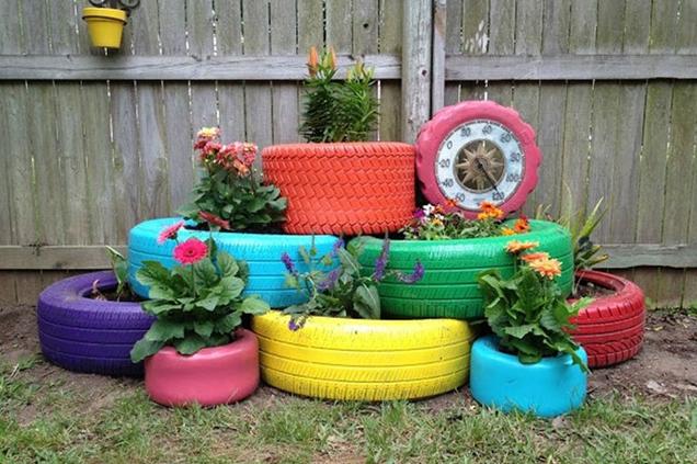 maneras de maximizar un jardin pequeno