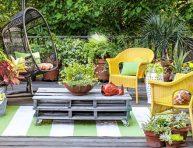 imagen 10+ maneras de maximizar un jardín pequeño