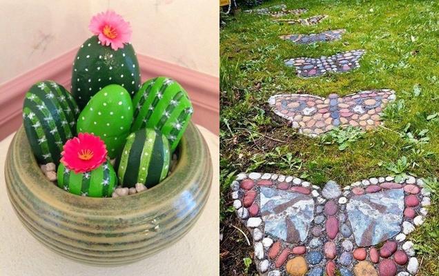 Bonitas ideas de decoracion de jardines con piedras y rocas