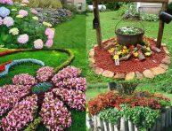 imagen 15 hermosas ideas de macizos de flores