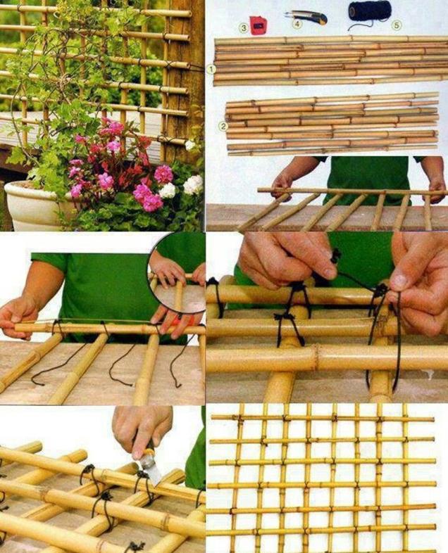 17 Ideas Para Decorar Con Cañas De Bambú