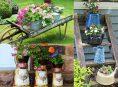 imagen 6 decoraciones de jardín de estilo vintage