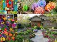 imagen 10 maneras inteligentes y económicas de iluminar el jardín